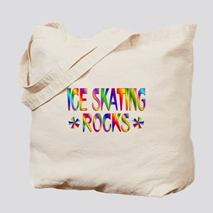 Ice Skating Tote Bag